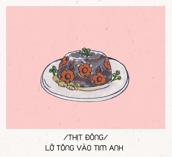 Hết ế ngay lập tức với 8 câu 'thả thính' theo tên các món ăn Tết