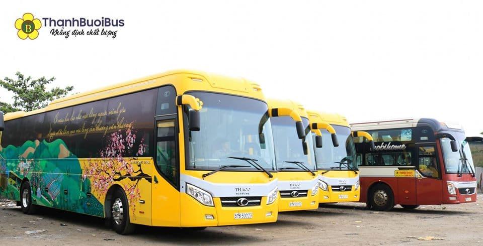 Nhà xe Thành Bưởi Tổng đài đặt vé, sơ đồ ghế trên xe Vàng Bolero