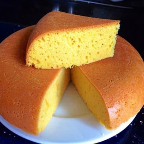 Cách làm bánh Bông Lan bằng nồi cơm điện siêu ngon