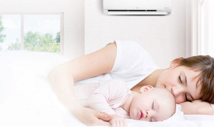 Không lắp điều hòa thổi trực tiếp vào phía giường ngủ