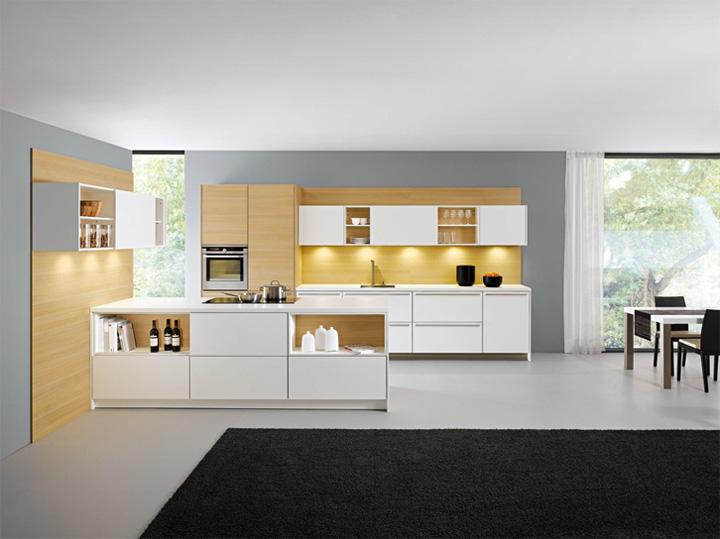 Mẫu thiết kế tủ bếp đẹp theo phong cách mới đầy tính sáng tạo