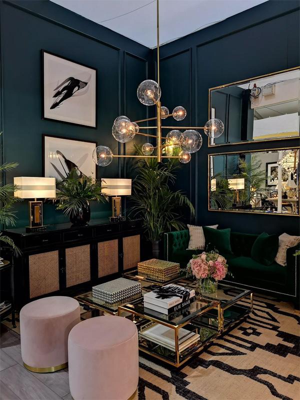 Bí quyết lựa chọn đèn trần trang trí phòng khách đẹp và phù hợp