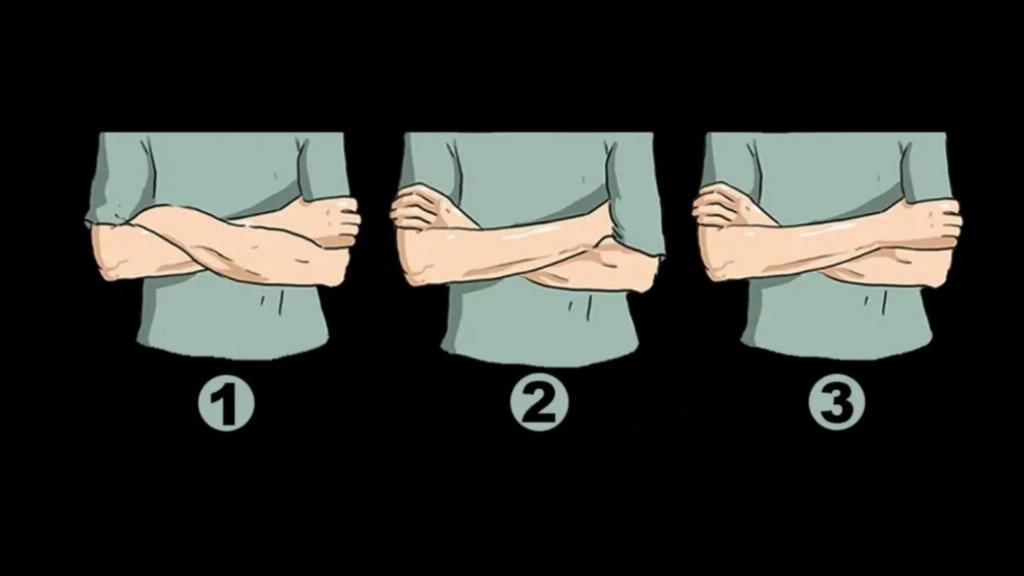 Cách bạn khoanh tay nói lên những thông tin gì về tính cách?