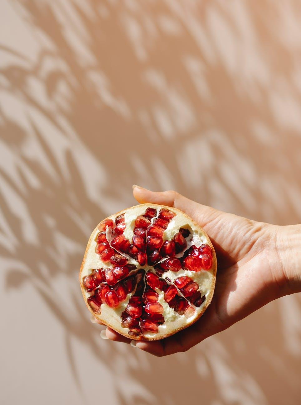 Lựu là thực phẩm ngăn ngừa lão hóa