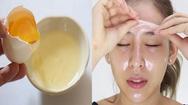 Cách chăm sóc da mặt trắng mịn giá rẻ bằng trứng gà