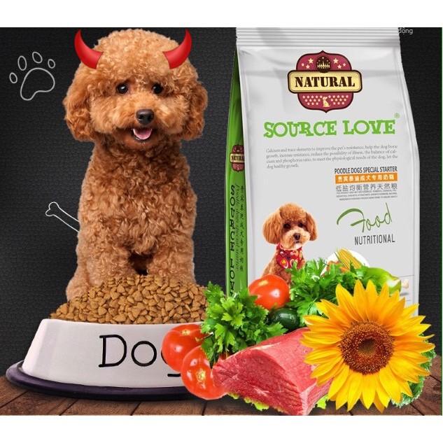 Thức ăn cho chó Poodle