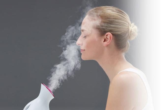 Xông hơi là một cách chăm sóc da sau sinh hiệu quả