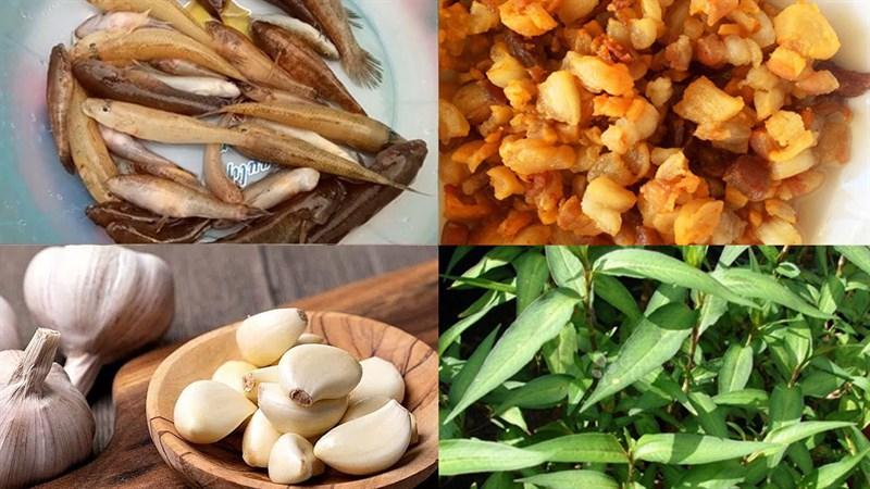Công thức làm món cá bống kho rau răm – tóp mỡ