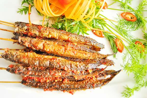 Cách Chế biến cá kèo nướng muối ớt ngon