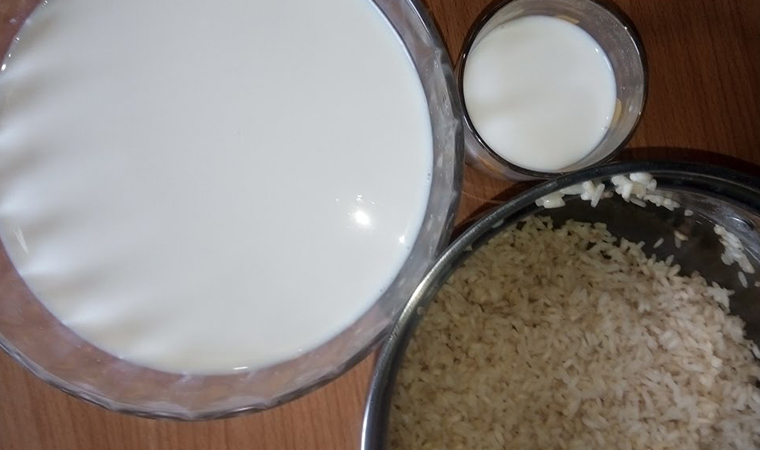 Cách nấu sữa gạo thơm ngon