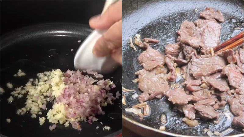 Thịt bò xàoThịt bò xào