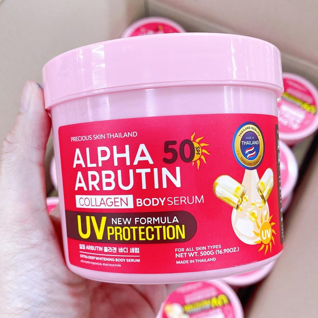 Kem dưỡng trắng body Alpha Arbutin