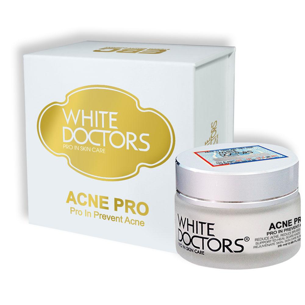 Kem đặc trị thâm mụn White Doctors Spotless Acne