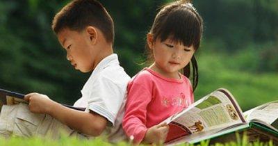 Đọc sách đời con sẽ hạnh phúc...