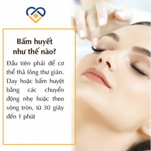 6 Huyệt bấm mỗi khi đau đầu sẽ hết liền