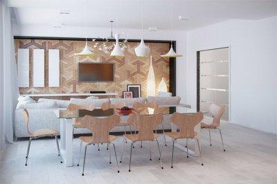 Sự đa năng của vật liệu gỗ sáng màu trong thiết kế nội thất
