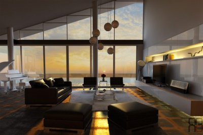 Xu hướng thiết kế phòng khách hiện đại đang được yêu thích