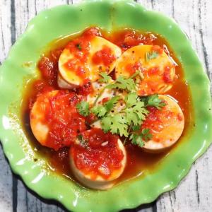 Đậu hũ non sốt cà chua thơm ngon, đưa cơm