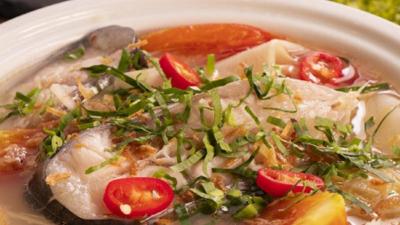 Cách nấu canh cá Hú măng chua,thịt cá mềm ngon.Làm cả nhà yêu thích